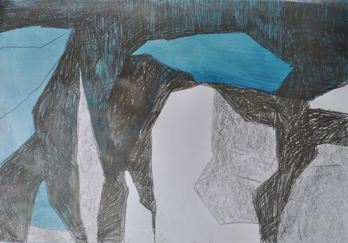 Gletscher Detail 2