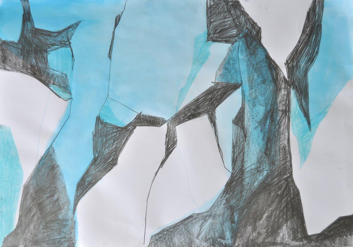 Gletscher Detail 3