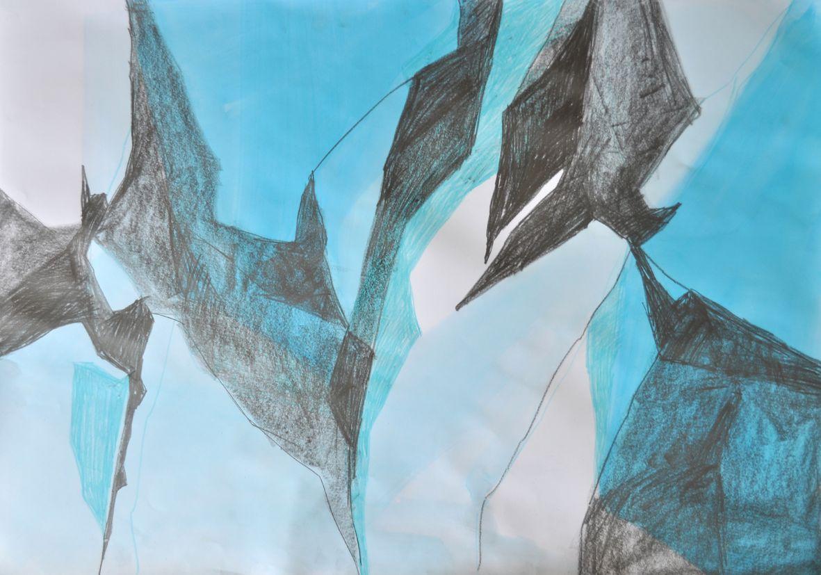 Gletscher Detail 4
