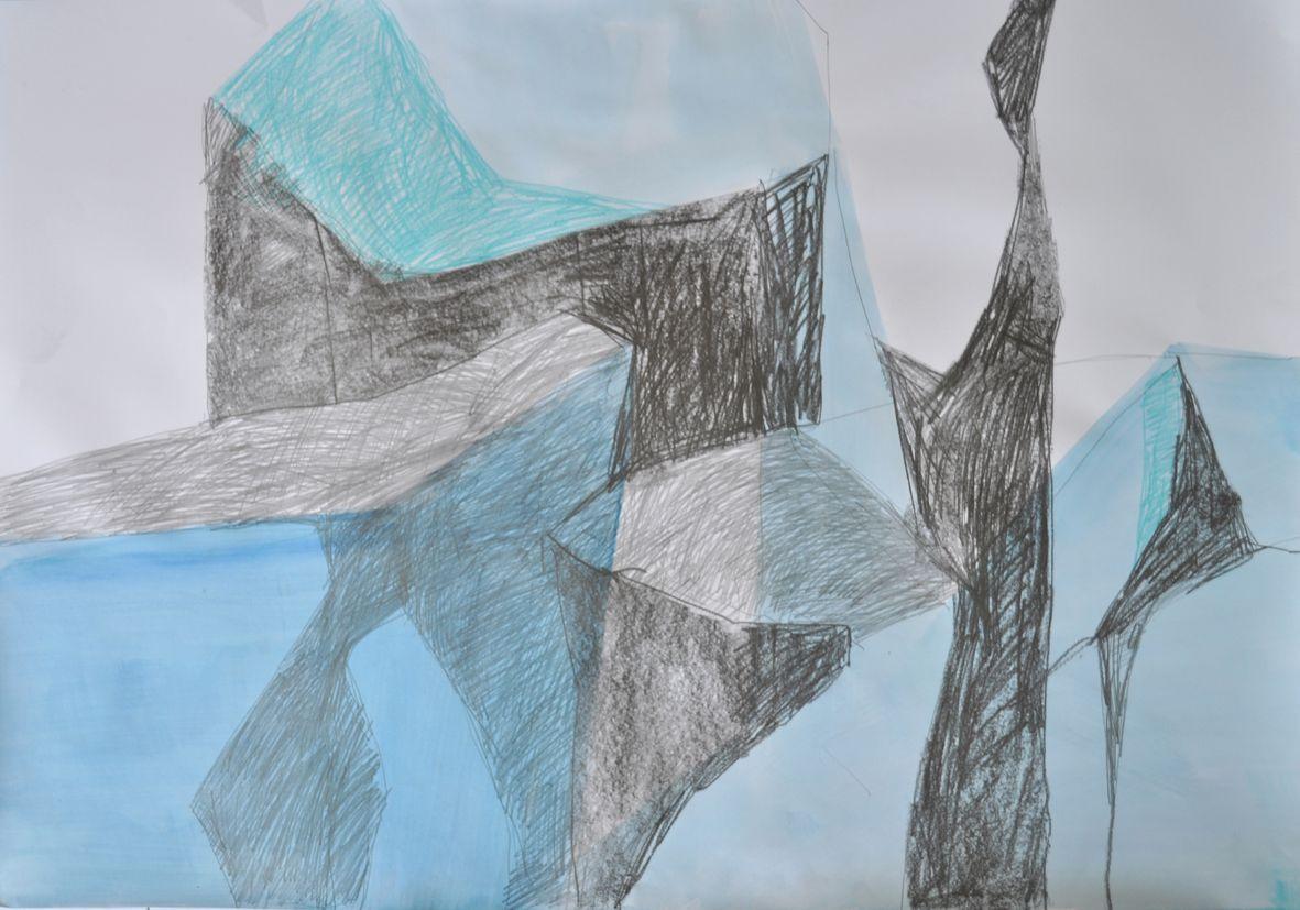 Gletscher Detail 5