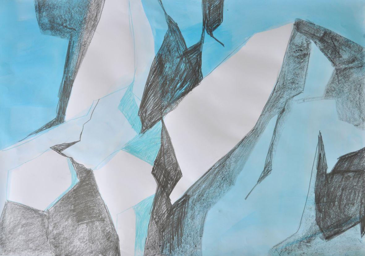 Gletscher Detail 6