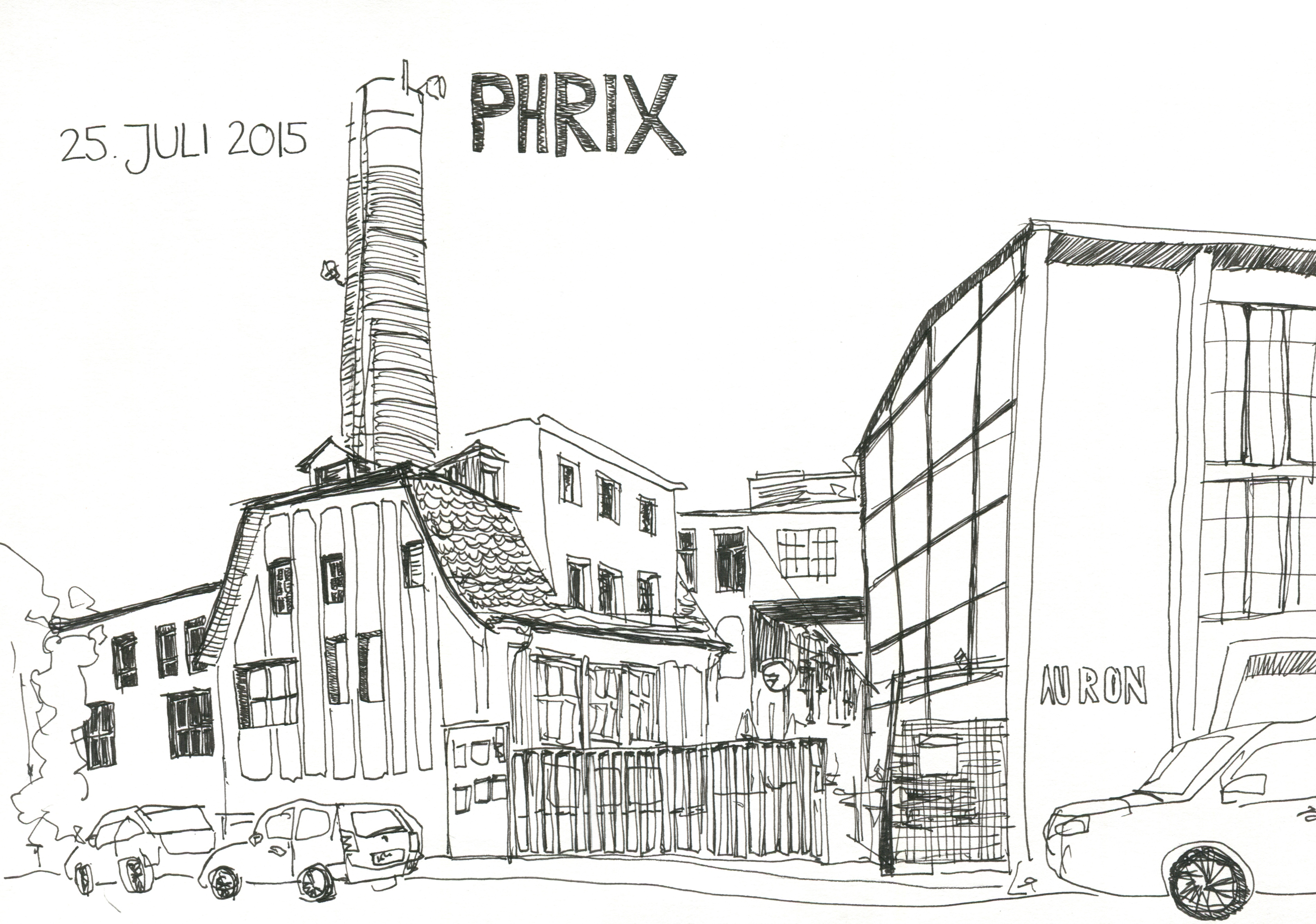 Phrix alter Eingang