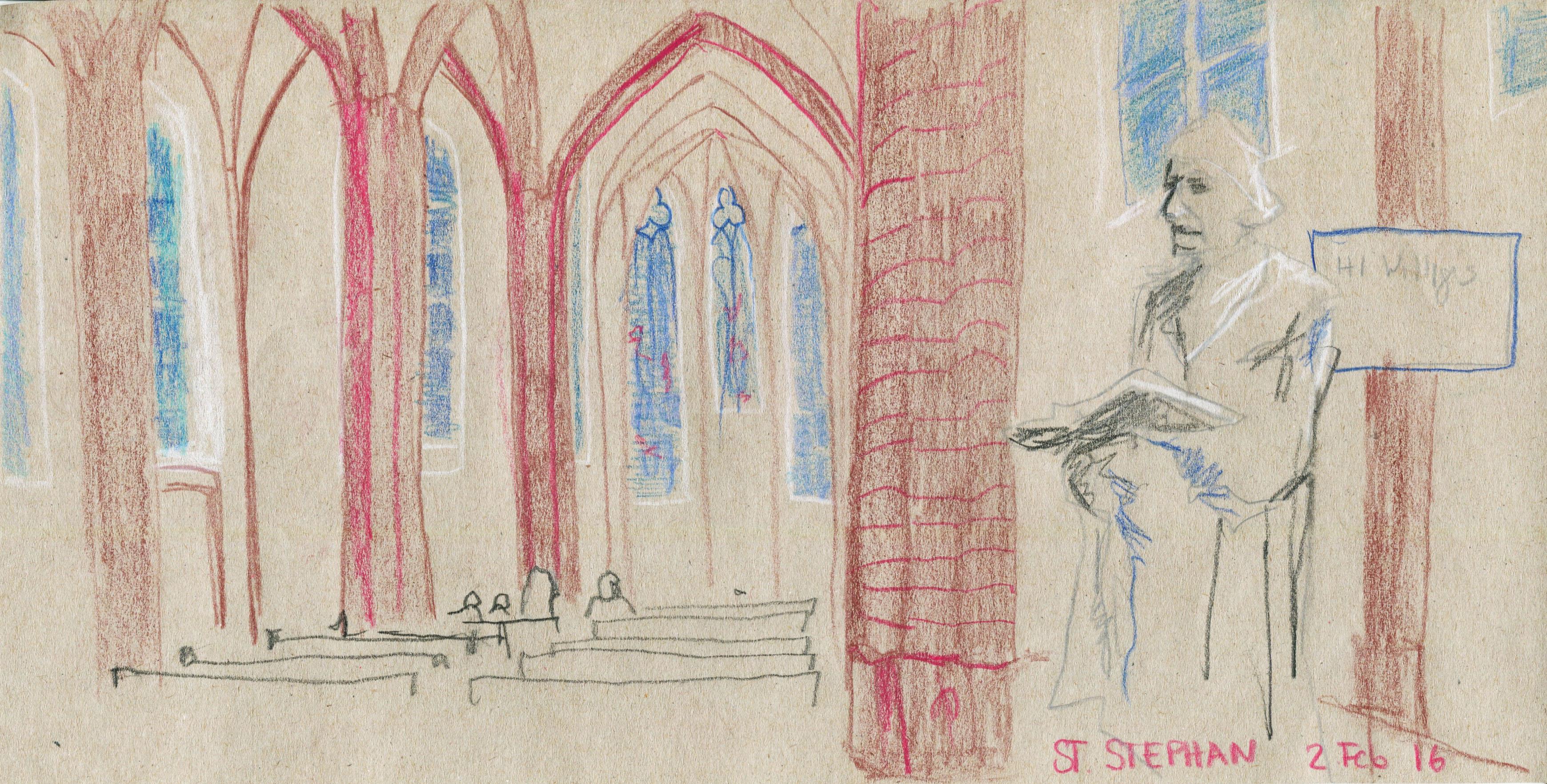 sankt stephan kirche Mainz